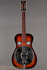 1976 Dobro Guitar Model 66 (carved pattern top & back) Image 9