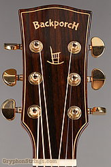 Backporch Guitar Dreadnought, flamed Mahogany, DTHES NEW Image 13