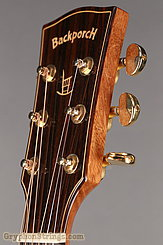 Backporch Guitar Dreadnought, flamed Mahogany, DTHES NEW Image 14