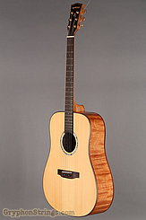Backporch Guitar Dreadnought, flamed Mahogany, DTHES NEW Image 8