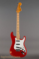 1979 Fender Guitar Stratocaster International Color-Moroccan Red-Hard Tail