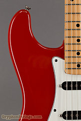 1979 Fender Guitar Stratocaster International Color-Moroccan Red-Hard Tail Image 12