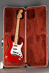 1979 Fender Guitar Stratocaster International Color-Moroccan Red-Hard Tail Image 30