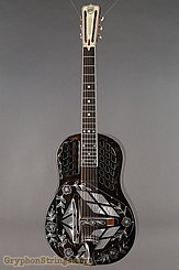 National Reso-Phonic Guitar STYLE 2 Tricone with Wild Rose design NEW Image 1