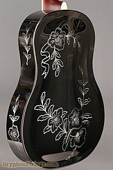 National Reso-Phonic Guitar STYLE 2 Tricone with Wild Rose design NEW Image 12