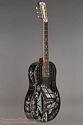 National Reso-Phonic Guitar STYLE 2 Tricone with Wild Rose design NEW Image 2