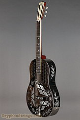 National Reso-Phonic Guitar STYLE 2 Tricone with Wild Rose design NEW Image 8
