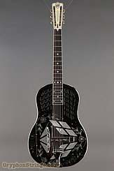 National Reso-Phonic Guitar STYLE 2 Tricone with Wild Rose design NEW Image 9