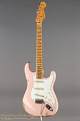 2015 Fender Guitar Ltd. 1956 Stratocaster Heavy Relic Faded Shell Pink