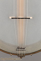 "Rickard Banjo Maple Ridge, 12"", Antiqued brass hardware NEW Image 11"