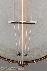 "Rickard Banjo Maple Ridge, 11"", Antiqued brass hardware NEW Image 11"