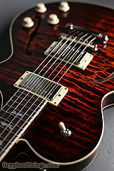 Collings Guitar SoCo Deluxe, Tiger Eye SB, Premium Quilt, Broken Glass Peghead  NEW Image 16
