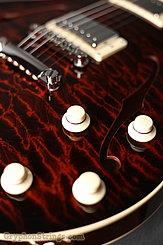 Collings Guitar SoCo Deluxe, Tiger Eye SB, Premium Quilt, Broken Glass Peghead  NEW Image 17