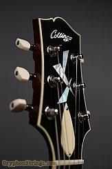 Collings Guitar SoCo Deluxe, Tiger Eye SB, Premium Quilt, Broken Glass Peghead  NEW Image 19