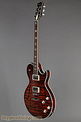 Collings Guitar SoCo Deluxe, Tiger Eye SB, Premium Quilt, Broken Glass Peghead  NEW Image 8