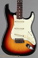 1963 Fender Guitar Stratocaster Sunburst Image 10
