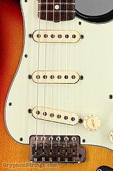 1963 Fender Guitar Stratocaster Sunburst Image 11