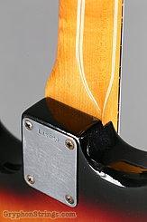 1963 Fender Guitar Stratocaster Sunburst Image 17