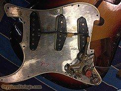 1963 Fender Guitar Stratocaster Sunburst Image 27