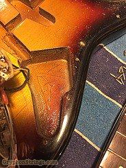 1963 Fender Guitar Stratocaster Sunburst Image 29