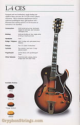 1993 Gibson Guitar L-4CES Wine Red Image 26
