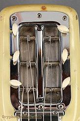 c. 1957 Fender Guitar White w/original legs Image 11