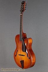 2011 Clark Octave Mandolin GOM, Guitar-Body Octave Mandolin w/Cutaway Image 8