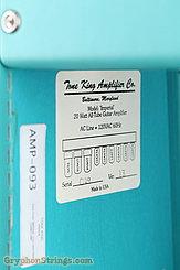 1993 Tone King Amplifier Imperial Aqua Green Image 3