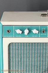 1993 Tone King Amplifier Imperial Aqua Green Image 8