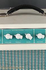 1993 Tone King Amplifier Imperial Aqua Green Image 9