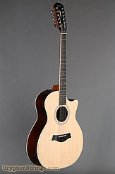 Taylor Guitar Custom 12-String Grand Auditorium, Sitka Spruce, Indian Rosewood NEW Image 2