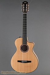 Taylor Guitar Custom Nylon String Grand Concert, Western Red Cedar, Flame Maple NEW