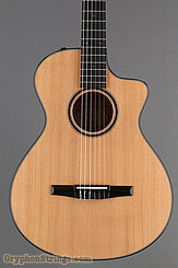 Taylor Guitar Custom Nylon String Grand Concert, Western Red Cedar, Flame Maple NEW Image 10