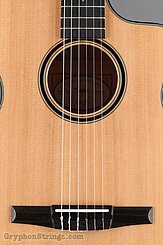 Taylor Guitar Custom Nylon String Grand Concert, Western Red Cedar, Flame Maple NEW Image 11