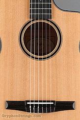 Taylor Guitar Custom Nylon String Grand Concert, Western Red Cedar, Flame Maple NEW Image 11