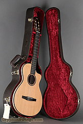 Taylor Guitar Custom Nylon String Grand Concert, Western Red Cedar, Flame Maple NEW Image 17