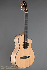 Taylor Guitar Custom Nylon String Grand Concert, Western Red Cedar, Flame Maple NEW Image 2