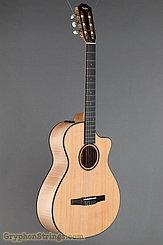 Taylor Guitar Custom Nylon String Grand Concert, Western Red Cedar, Flame Maple NEW Image 2