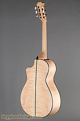 Taylor Guitar Custom Nylon String Grand Concert, Western Red Cedar, Flame Maple NEW Image 4