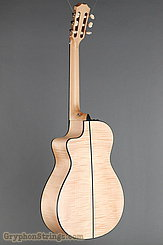 Taylor Guitar Custom Nylon String Grand Concert, Western Red Cedar, Flame Maple NEW Image 6