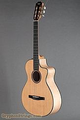 Taylor Guitar Custom Nylon String Grand Concert, Western Red Cedar, Flame Maple NEW Image 8