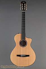 Taylor Guitar Custom Nylon String Grand Concert, Western Red Cedar, Flame Maple NEW Image 9