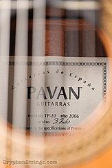 2006 Pavan Guitar TP-20 Image 17