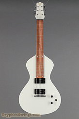 Asher Guitar Electro Hawaiian Junior Vintage White NEW Image 9