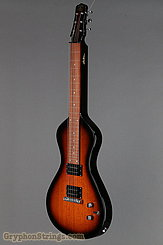 Asher Guitar Electro Hawaiian Junior Tobacco Sunburst NEW Image 8