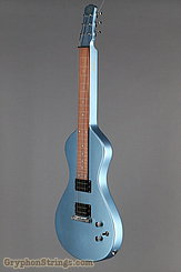 Asher Guitar Electro Hawaiian Junior Lake Placid Blue NEW Image 8