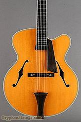 1995 Megas Guitar 18 inch blond cutaway 7 string Image 10