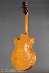 1995 Megas Guitar 18 inch blond cutaway 7 string Image 4