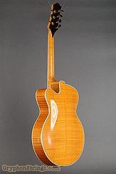 1995 Megas Guitar 18 inch blond cutaway 7 string Image 6