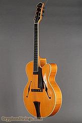1995 Megas Guitar 18 inch blond cutaway 7 string Image 8